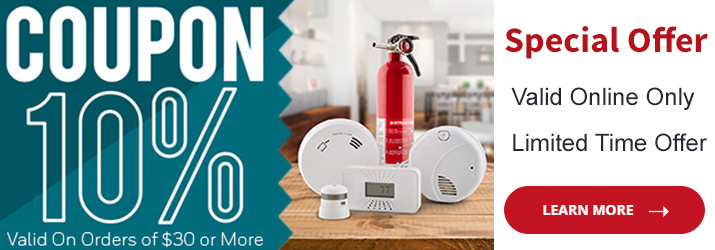 save on smoke fire and carbon monoxide alarms