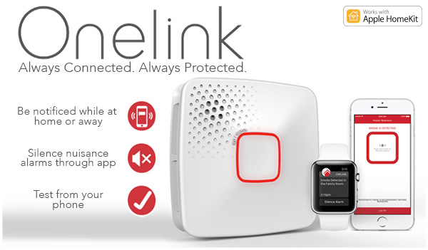 Onelink by First Alert, Smoke and CO detectors