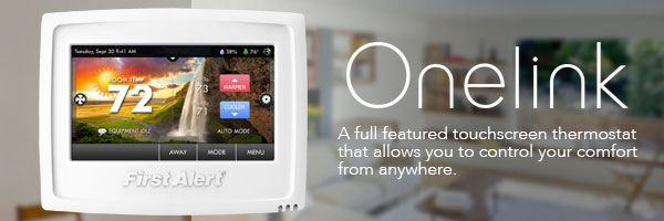 Onelink by First Alert, Wifi Hardwired Thermostat