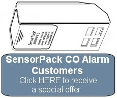 First Alert SensorPack Carbon Monoxide Alarm Special Offer
