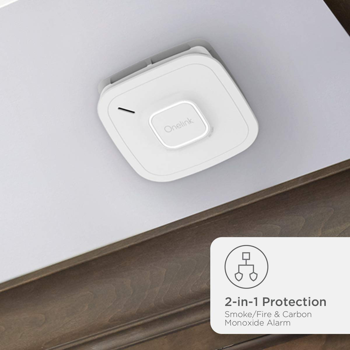 First Alert Smart Onelink Smoke + CO Alarm - Hardwired (1042135)