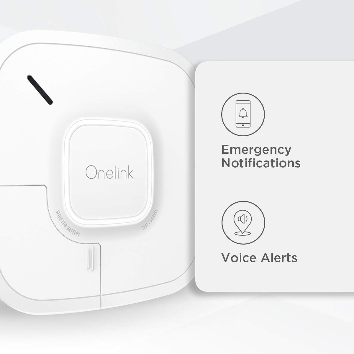 First Alert Smart Onelink Smoke + CO Alarm - Battery Operated (1042136)