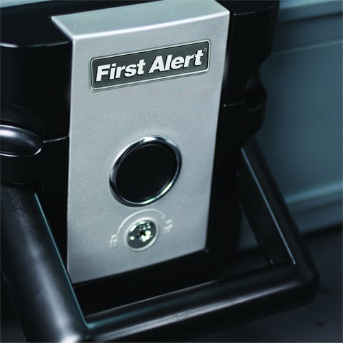 First Alert 0.19 Cubic Foot Water and Fire Protector Chest - 2017F