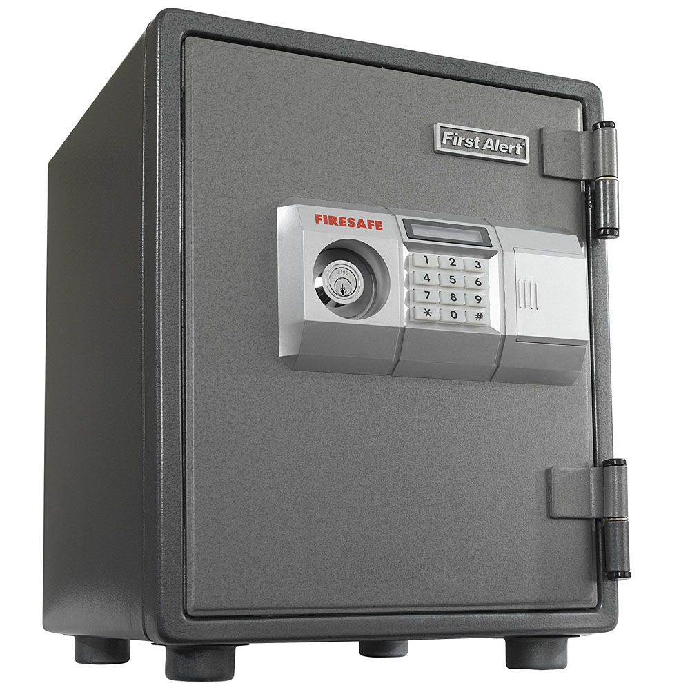 First Alert .80 Cubic Foot Steel Fire and Anti-theft Digital Safe