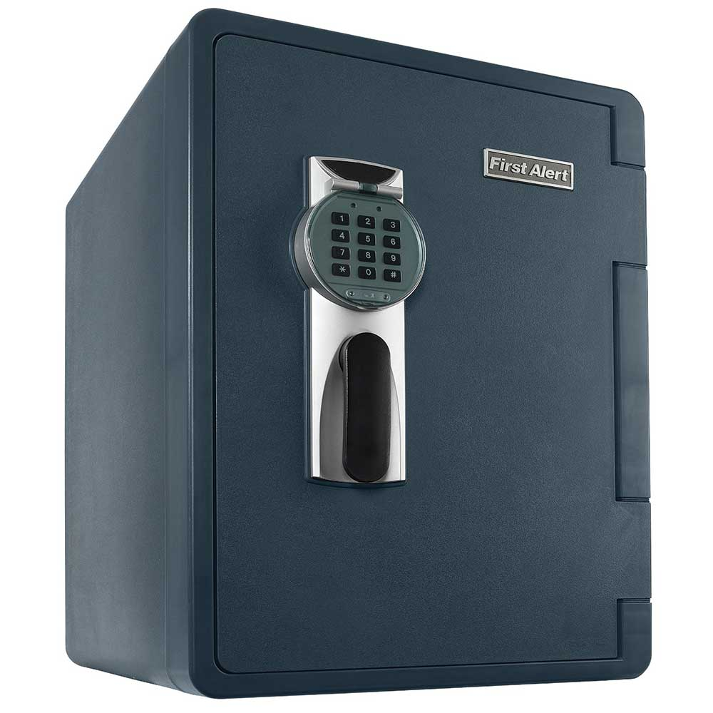 First Alert 2.1 Cubic Foot Water, Fire, and Theft Digital Bolt-Down Safe with Ready-Seal Technology - 2096DF-BD