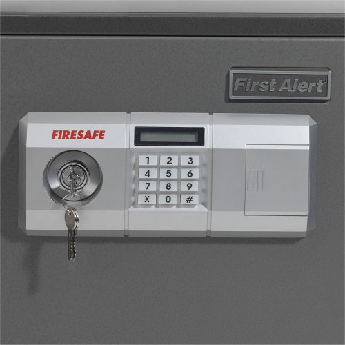 First Alert 1.9 Cubic Foot Steel Fire and Anti-Theft Digital Safe - 2118DF