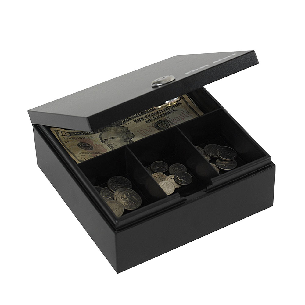 First Alert Steel Cash and Key Box - 3010F