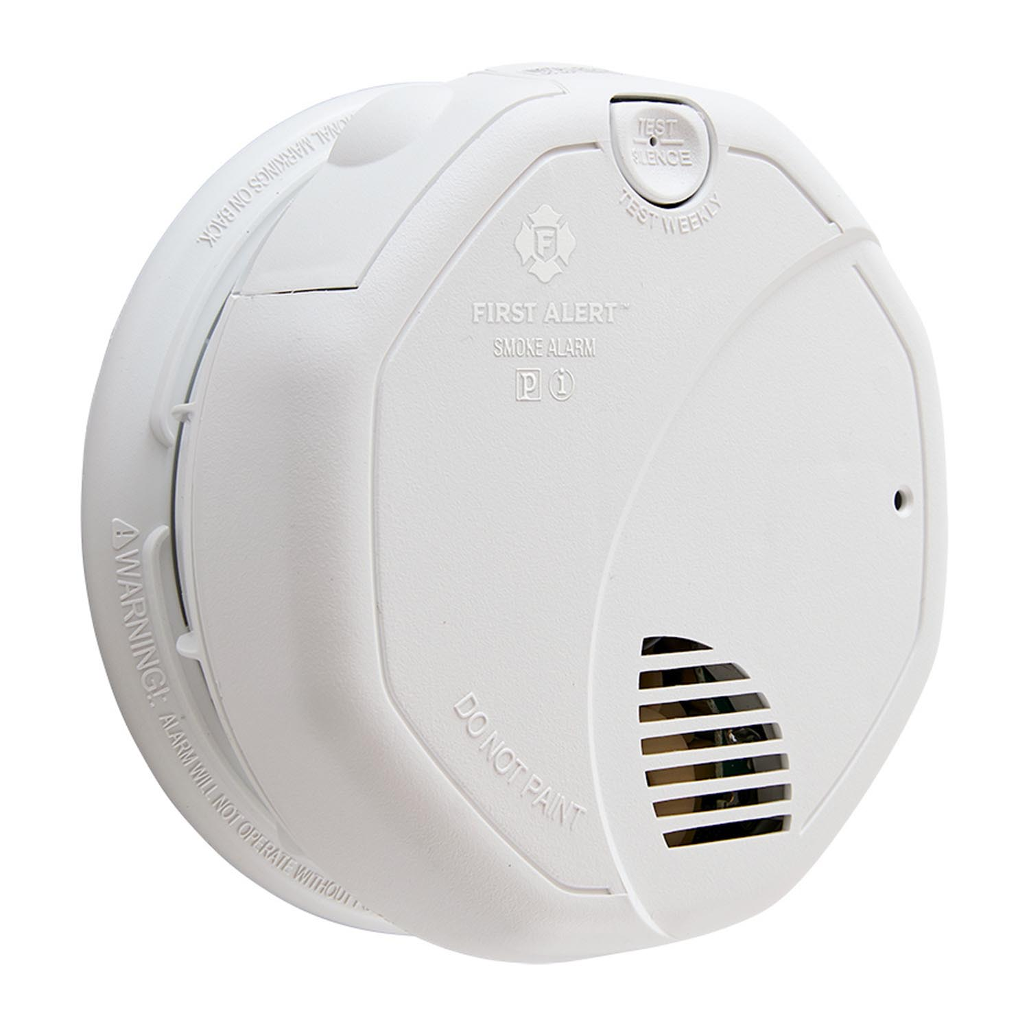 120VAC Hardwired Photoelectric and Ionization Smoke Alarm with Battery Backup