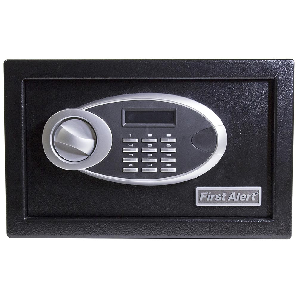 First Alert 0.31 Cubic Foot Steel Digital Anti-Theft Safe - 4003DFB