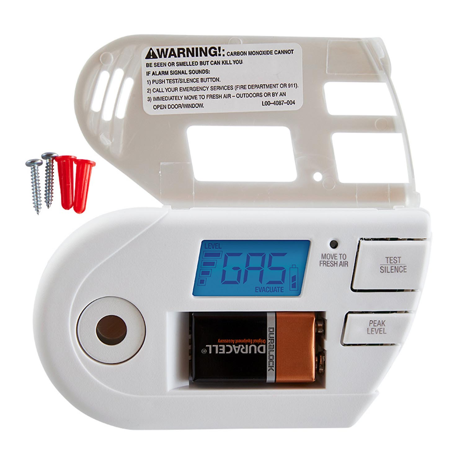First Alert Combination Explosive Gas and Carbon Monoxide Alarm with Backlit Digital Display - GCO1CN (1039760)