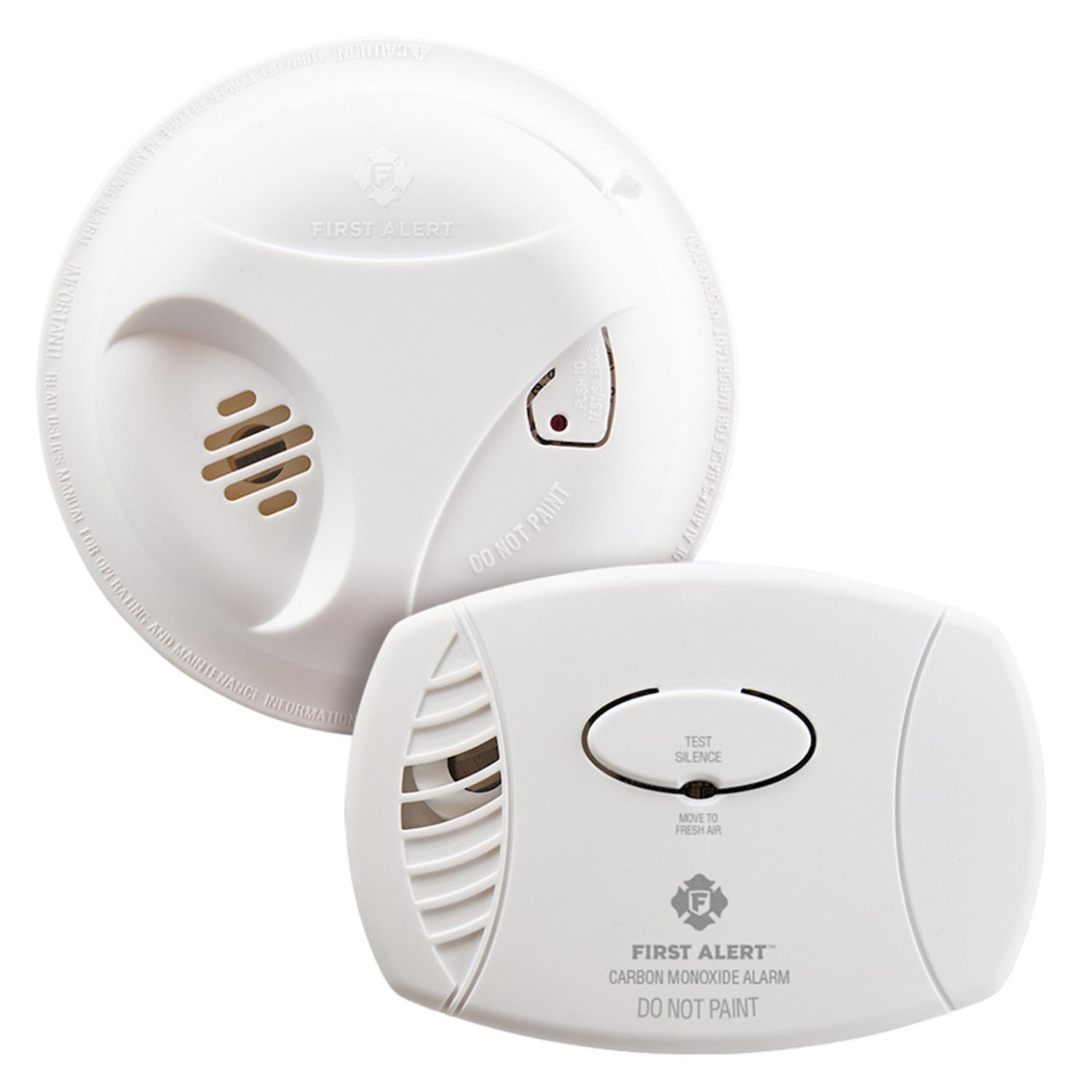 Carbon Monoxide and Smoke Detector (Combo Pack)