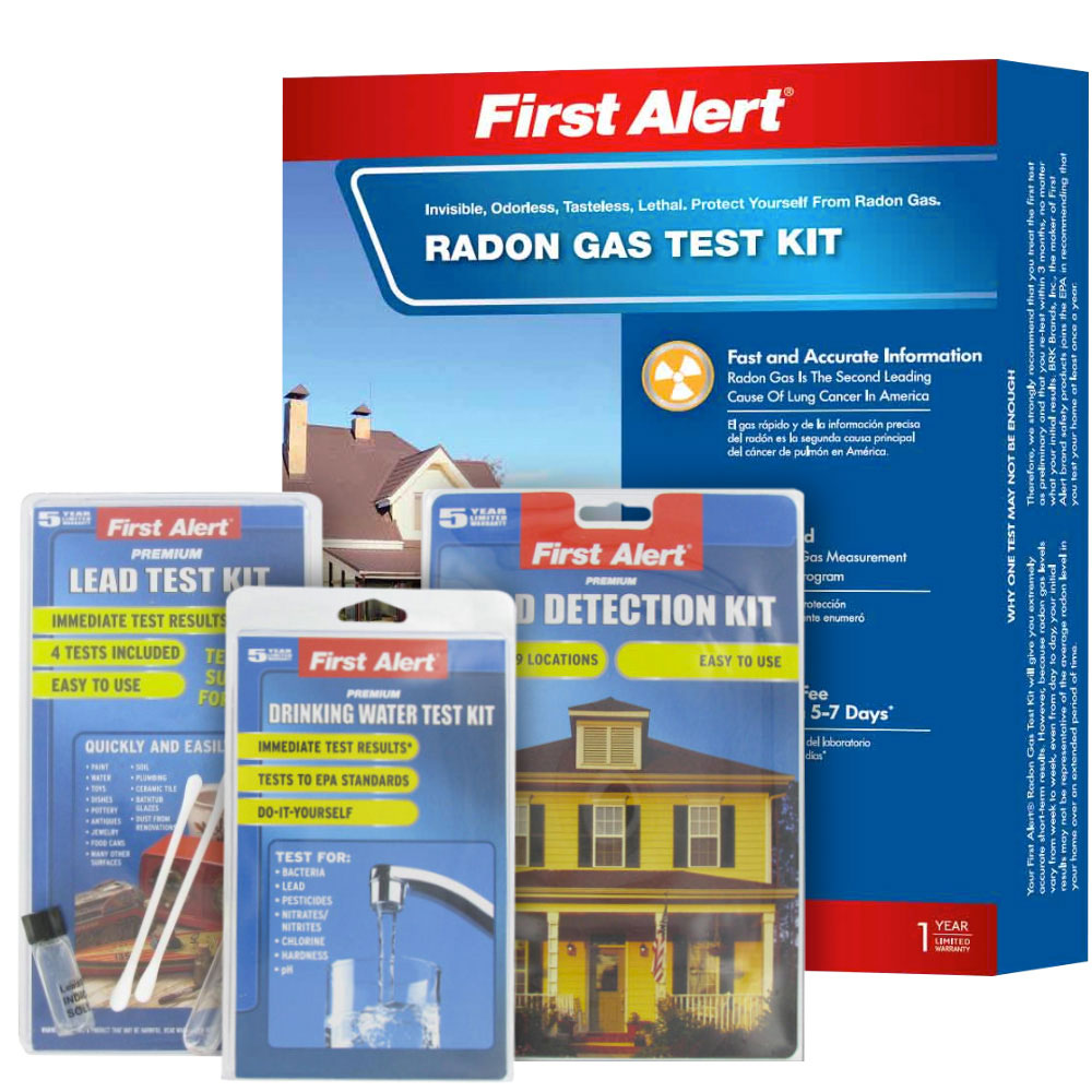 First Alert Home Test Kit Value Pack