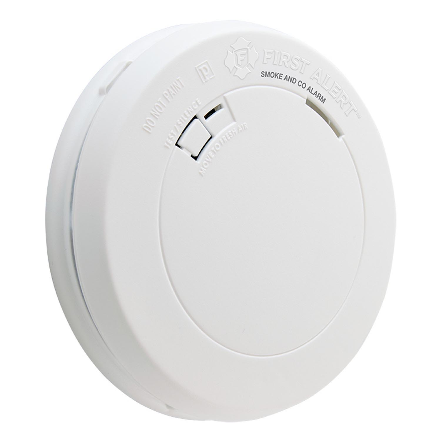 First Alert Slim Design Battery-Operated Combination Smoke & Carbon Monoxide Alarm - PRC700