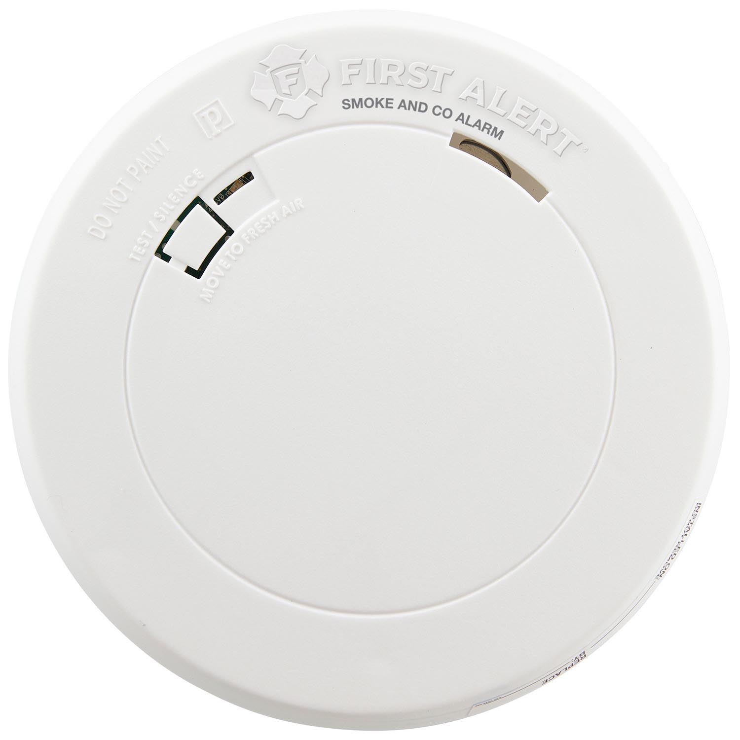 First Alert 10-Year Sealed Battery Combo Photoelectric Smoke & Carbon Monoxide Alarm with Slim Design - PRC710 (1039868)