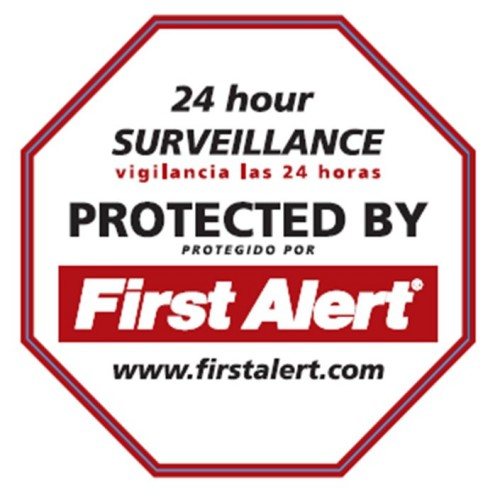 First Alert Security Yard Sign - YS-1