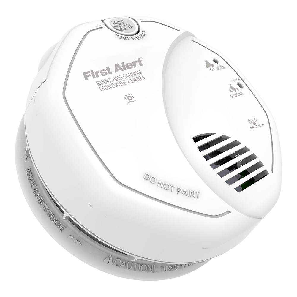 First Alert Z-Wave Enabled Battery Smoke & Carbon Monoxide Combo Alarm, ZCOMBO-G