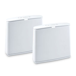 Onelink Secure Connect Dual-Band Mesh Wi-Fi Router System | 2-Pack Whole Home Coverage Up to 3,000 Sq Ft