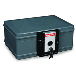 First Alert 2011F Fire Protector Chest, 0.17 Cubic Foot