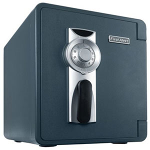 First Alert 2087F-BD Waterproof and Fire Resistant Bolt-Down Safe