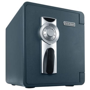 First Alert 1.3 Cu. Ft. Combination Waterproof and Fire Resistant Bolt-Down Safe