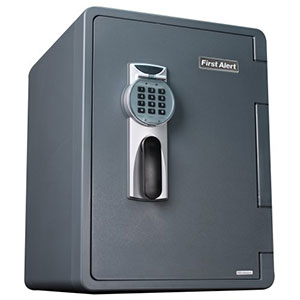 First Alert 2096DF Water, Fire, and Theft Digital Safe, 2.1 Cubic Foot