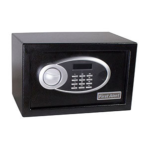 First Alert 4003DFB 0.31 Cubic Foot Anti-Theft Safe