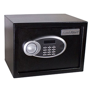 First Alert 4005DFB Anti-Theft Safe, 0.57 Cubic Foot