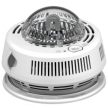 First Alert 7010BSL Hardwired Photoelectric Smoke Detector with Battery Backup & Strobe