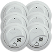 Hardwired Smoke Alarm with Battery Backup - Contractor Pack (48 pack, individual