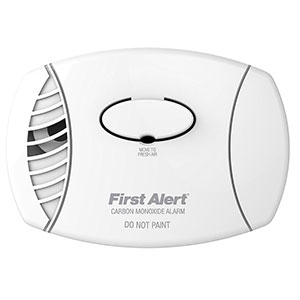 First Alert CO400 Basic Battery Operated Carbon Monoxide Alarm