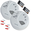 Onelink Wireless Talking Battery Operated Smoke & Carbon Monoxide Alarm - 2pk