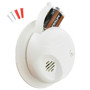 First Alert SA305CN3 Long Life Battery Smoke Alarm (1039815)