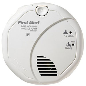 Battery Operated Talking Combination Smoke and Carbon Monoxide Alarm, SCO7CN