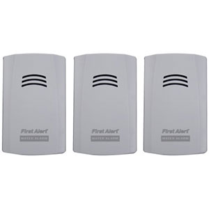 First Alert Water Alarm (3pk), WA100-3