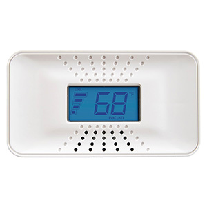 First Alert 10 Year Carbon Monoxide Alarm, Temperature & Digital Display, CO710