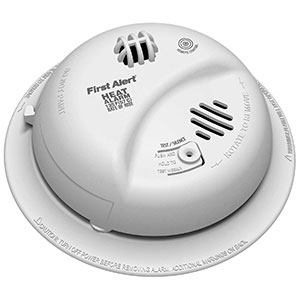First Alert HD6135FB BRK Brands Hardwired Heat Alarm with Battery Backup