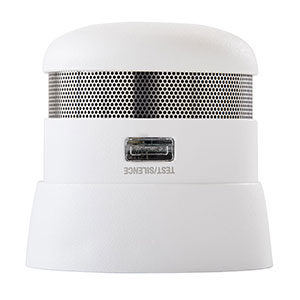 First Alert P1010 10 Year Battery Atom Photoelectric Micro Smoke Alarm