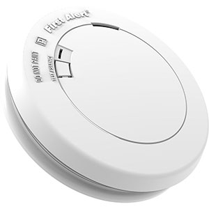 First Alert Slim Design Battery-Operated Photoelectric Smoke & Fire Alarm, PR700