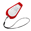 First Alert POD Silicon Skin Cover for PA100 Personal Alarm, Red