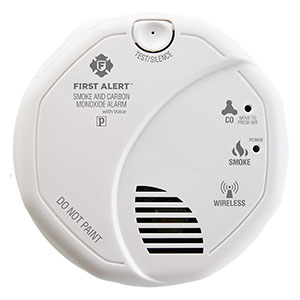 First Alert Wireless Talking Battery Operated Smoke & Carbon Monoxide Alarm